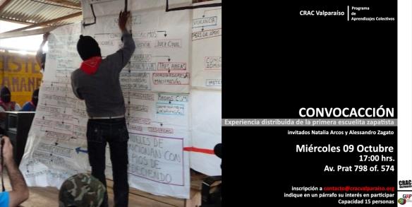 Otro próximo evento GIAP, en Centro de Residencias Artísticas de Valparaíso, CRAC