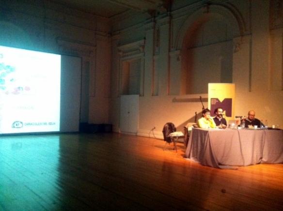 GIAP en la 11º Bienal de Artes Mediales de Chile