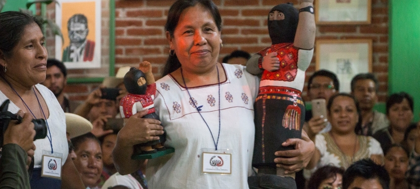 """Spokesperson for the people and candidate for the media"": An indigenous woman for the 2018 presidential elections in Mexico"