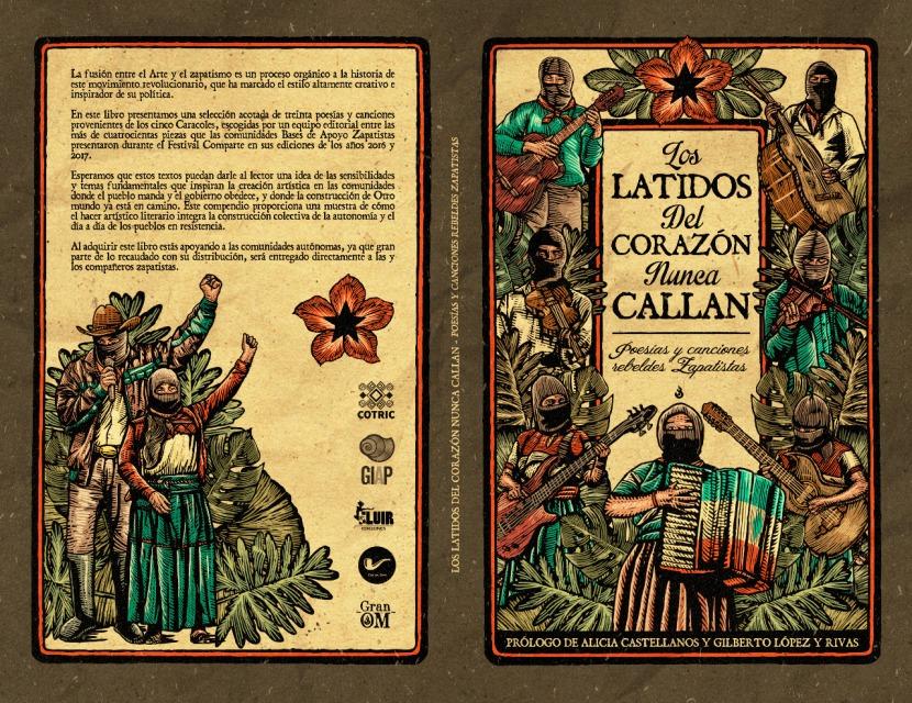 """¡PRÓXIMAMENTE! """"Los latidos del corazón nunca callan: poesías y canciones rebeldes Zapatistas"""""""