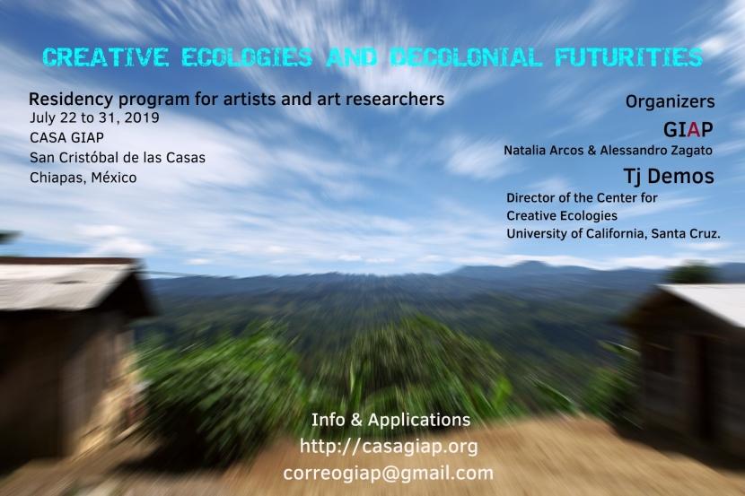 Ecologias creativas y futuros decoloniales – Creative ecologies and decolonialfuturities